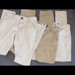 BUNDLE- 3 Pairs Old Navy Khaki Pants